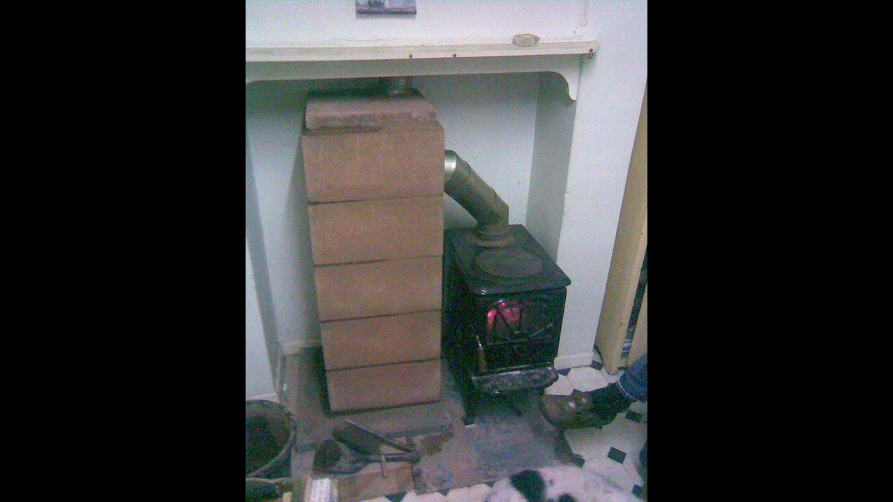 Masonry wood stove heat exchanger - Masonry Wood Stove Heat Exchanger - YouTube