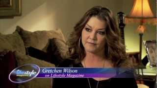 Strength from tough times -Gretchen Wilson on Lifestyle Magazine