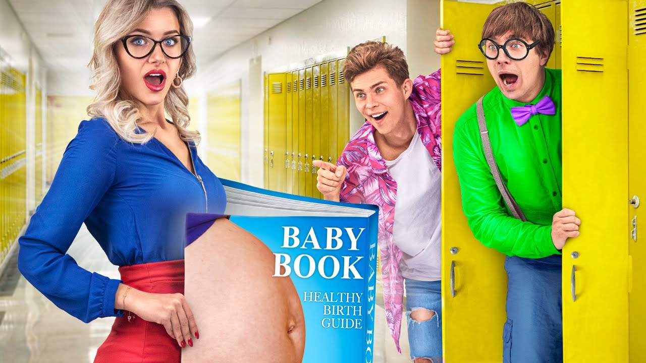 If My Teacher is Pregnant? / Funny Pregnancy Situations