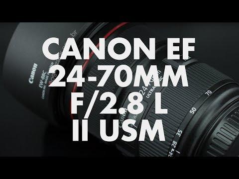 Lens Data - Canon EF 24-70mm f/2.8 L II USM Review