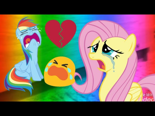 WARNING: EMOTIONAL FEELINGS MAY OCCUR!!!! | Fluttershy Reacts To MLP Music Video (Bullying)