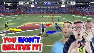HOW THE HECK DID THE GAME END UP LIKE THIS!? WHAAATTT!?!? Madden 18 Squads ep.2