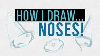 Tutorial | HOW I DRAW NOSES