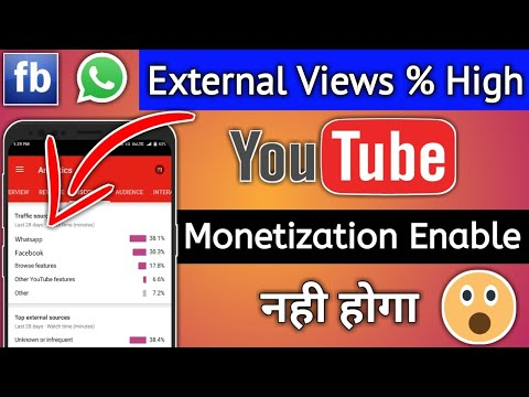 Don't Share Your Youtube Video On facebook or whatsapp | Enable Youtube Monetization Easily 2018