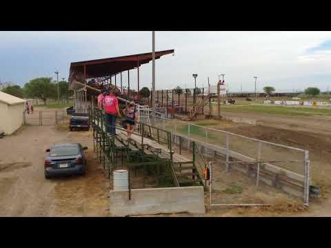Chris & Colin Heim IMCA Stock Car Dawson County Raceway 5 27 18