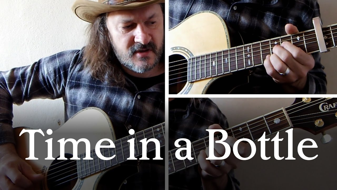 cover of 39 time in a bottle 39 by jim croce both guitar parts youtube. Black Bedroom Furniture Sets. Home Design Ideas