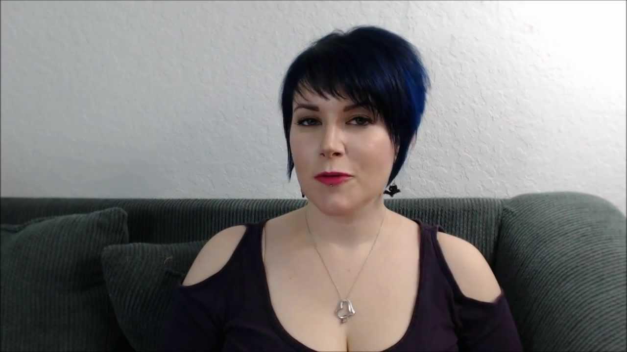 Manic Panic Shocking Blue Hair Youtube