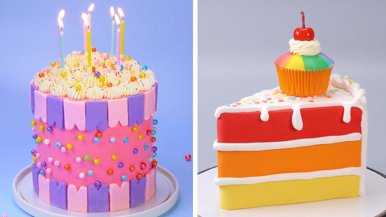 10+ Fancy Birthday Cake Decorating Recipes   Yummy Cake Design by Cake Time For You