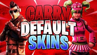 Carrying Default Skins to a Victory Royale in Fortnite