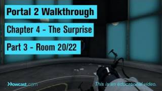 Portal 2 Walkthrough / Chapter 4 - Part 3: Room 20/22