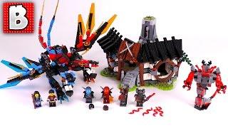 LEGO 2017 Ninjago Dragon's Forge 70627! Live Build & Review   BrickVault LIVE