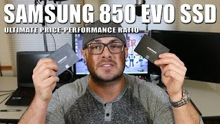 Samsung 850 EVO SSD - Great SSD for an insane price!