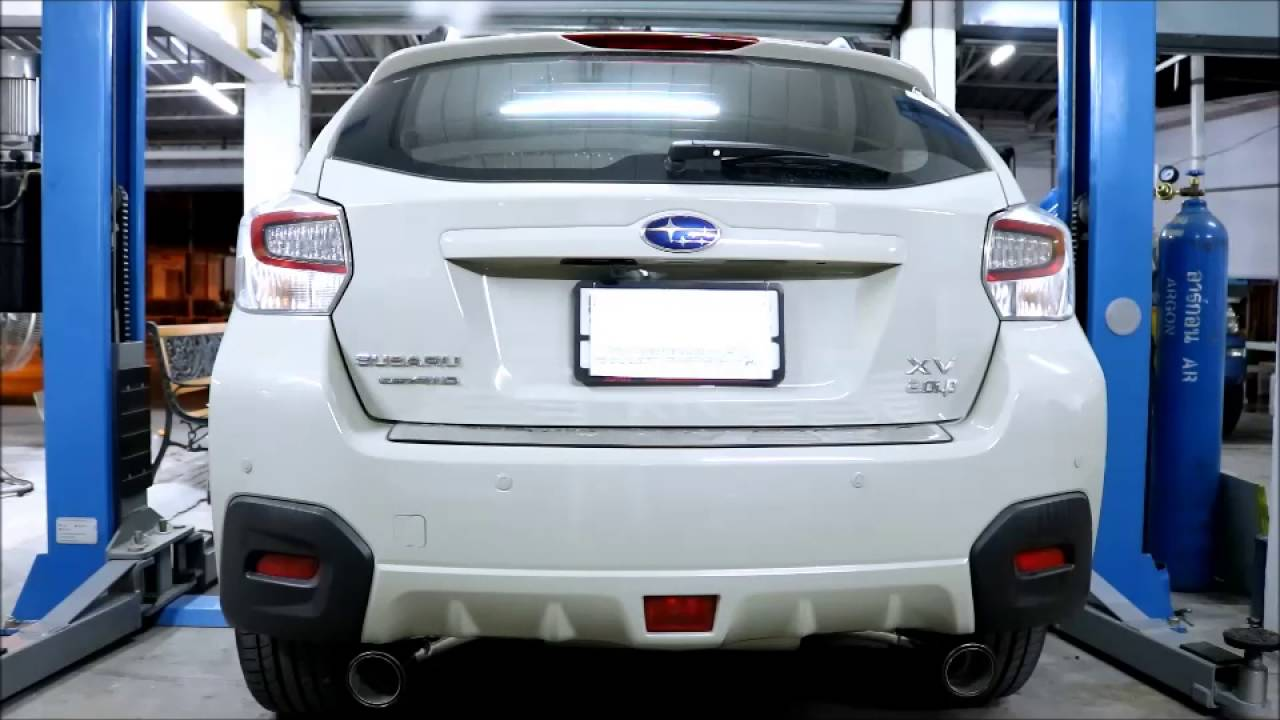 Subaru Xv Custom Exhaust Catalytic Back Pw Prideracing