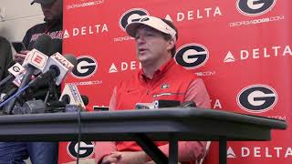 What Georgia's Kirby Smart said after losing to Auburn