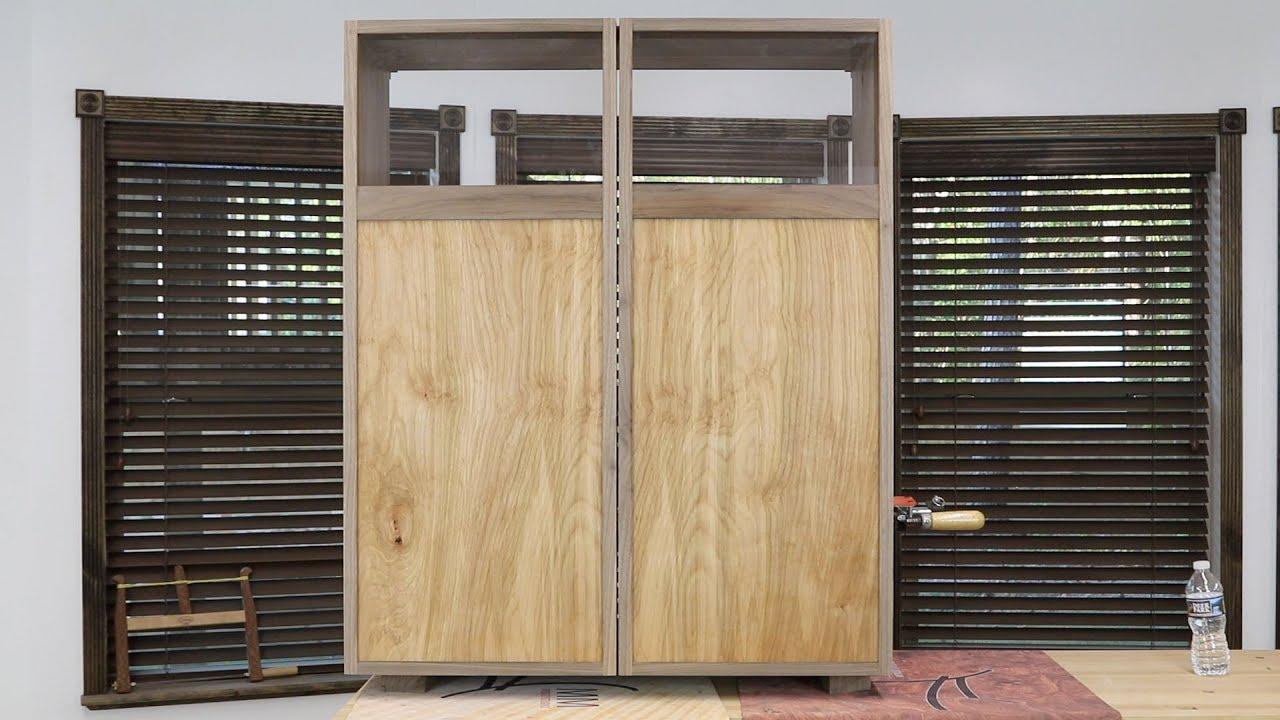 Shop Update September 24, 2017 - Tool Cabinet Doors - YouTube