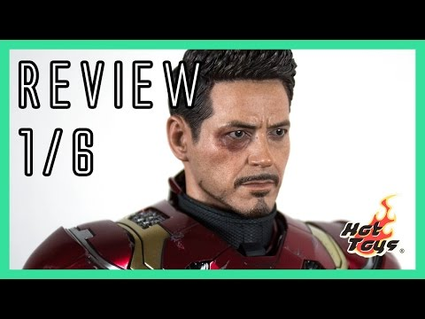 Hot Toys Iron Man Mark 46 XLVI CA: Civil War 1/6 review MMS353D16