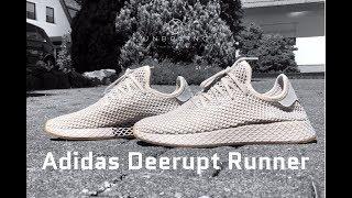 Adidas Deerupt Runner 'light grey/gum