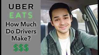How Much Do Uber EATS Drivers Make?