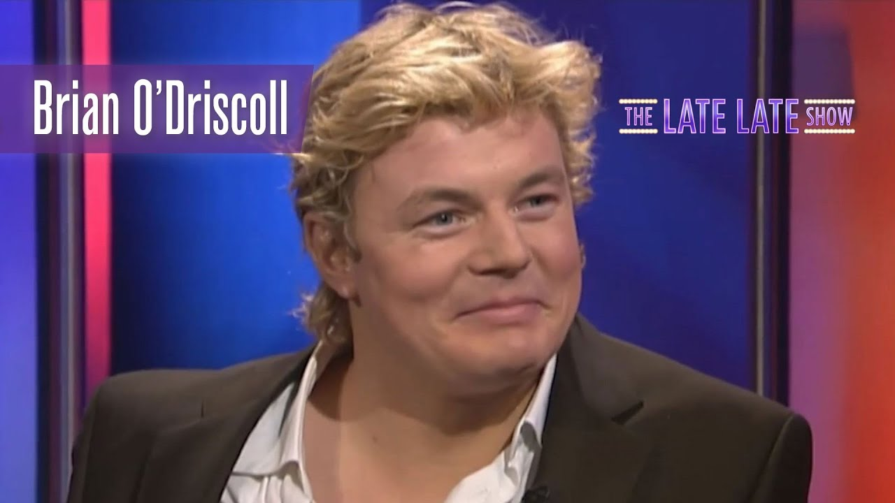 Cringe With Brian O Driscoll As He Watches A Clip Of Himself From