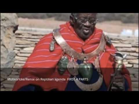 Mutwa/Icke/Rense on Reptilian agenda part 1