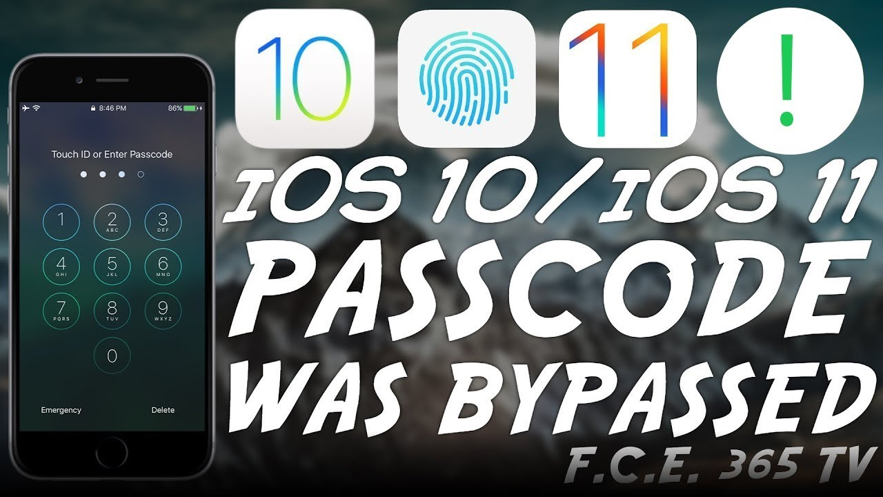 iOS 10 / 11 Passcode Bypass on iPhone 7 and 7 Plus ACHIEVED!
