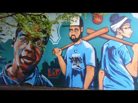Graffiti jam session à Champel