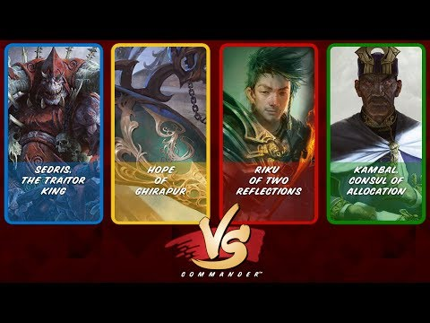 Commander VS S9E9: Sedris vs Hope of Ghirapur vs Riku vs Kambal