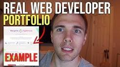 REAL Developer Portfolio Example & Resume Reviews