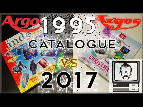 1995 Xmas Catalogue vs. 2017 Catalogue | Nostalgia Nerd
