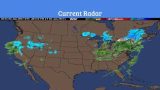 Winter Storm Gregory Moving East - Update 3