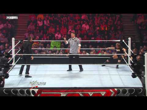"Raw: ""Rowdy"" Roddy Piper vs. The Miz"