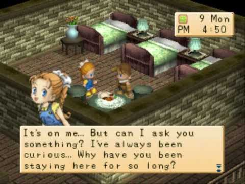 Harvest Moon: Back to Nature - Rivals Heart Event - Cliff & Ann - Event#2