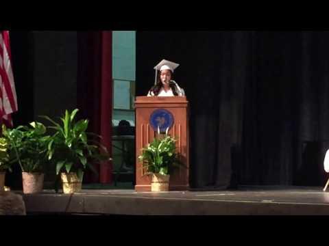 Chaiyon Chennie Kim Graduation Speech at Charles DeWolf Middle School, Old Tappan, NJ 6/17/2016