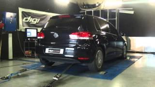 * Reprogrammation Moteur * VW Golf 6 tdi 110cv @ 175cv Dyno Digiservices Paris