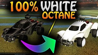 How Do I Get A White Painted Octane