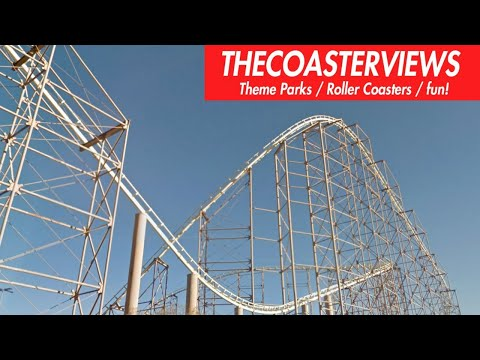 {VEGAS} Desperado Roller Coaster HD Front POV BUFFALO BILLS Hotel & Casino Primm Valley Nevada