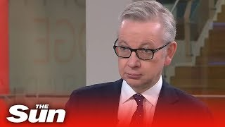 Gove said Britain still will leave on October 31 as he ramps up No Deal plans