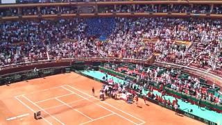 Semifinal copa davis  España Francia en Córdoba parte 2