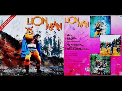 LP Lion Man // Completo // RARIDADE