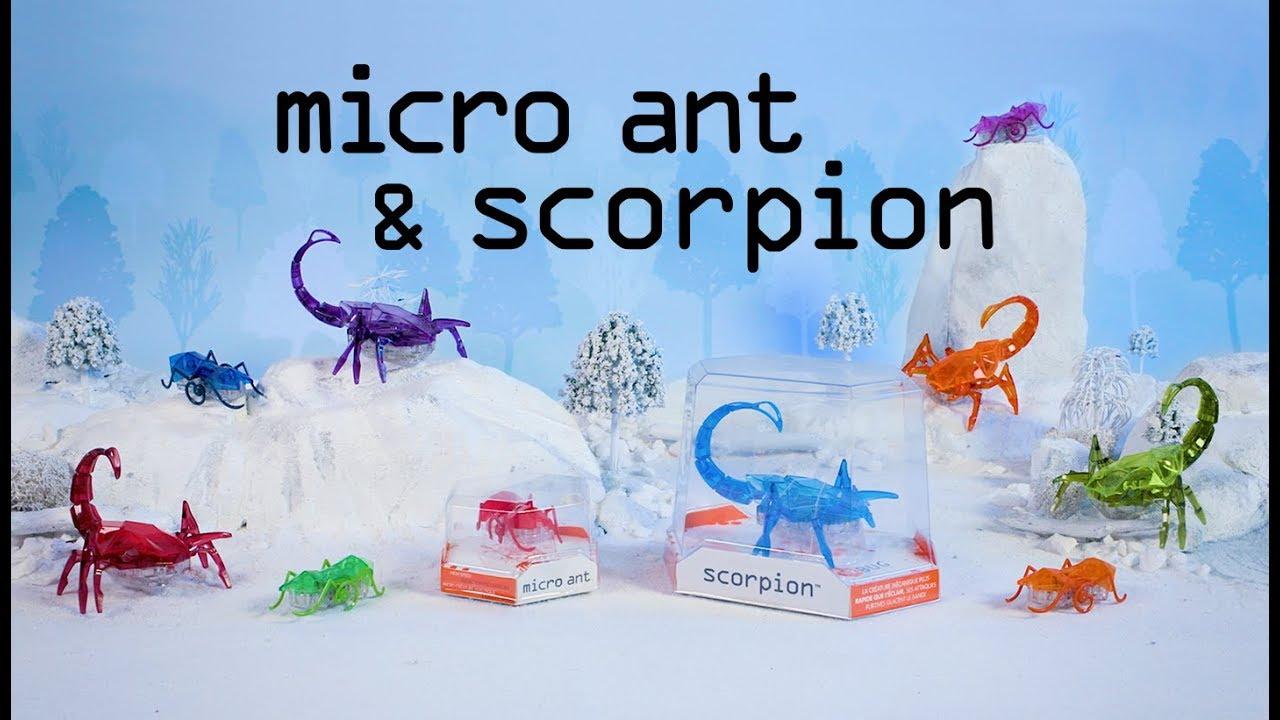 Hexbug Micro Robotic Scorpion Creature Hex Bug Red