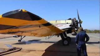 Maniobras terrestres, aviones Dromader de CONAF (Chile)