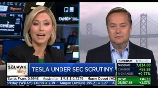 Jason Calacanis CNBCSquawkAlley 8/16/18: Twitter rage slot machine; Tesla strong despite SEC, shorts