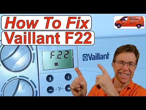 f 22 Fault  Vaillant ecoTEC Plus boiler