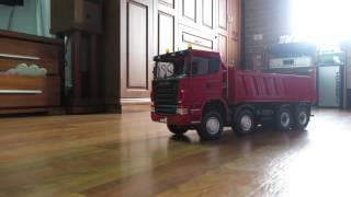 scania hydraulic dump truck 8X8