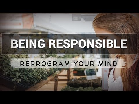 Positive Affirmations for Being Responsible - Law of attraction - Hypnosis - Subliminal
