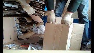Как складывать вторсырье: макулатура, пленка(Как удобно связать картон и сложить полиэтилен., 2016-03-03T14:46:04.000Z)