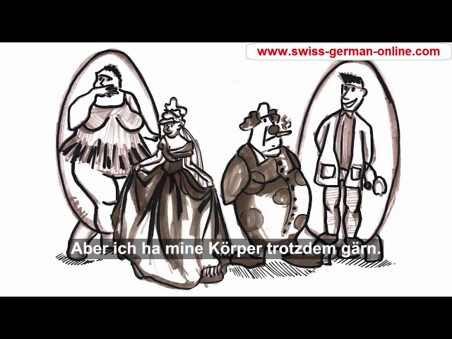 Describing body appearance in Swiss German