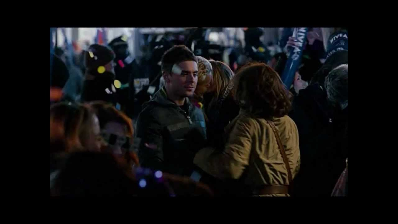 New Years Eve Movie Zac Efron Kisses Michelle Pffiefer Youtube