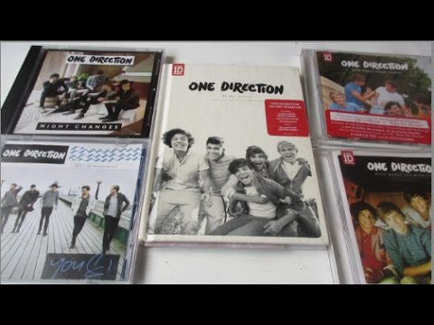One Direction - Singles + Up All Night: Limited Yearbook Edition - Parte 2 - Unboxing CD En Español