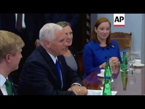 Pence Visits NATO Member Estonia